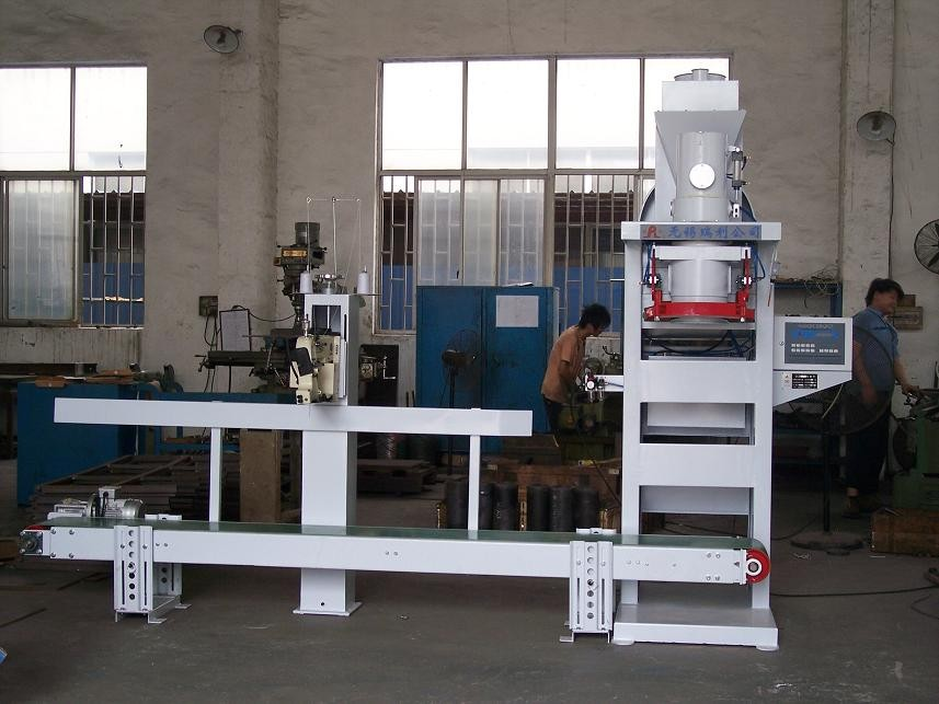 High Corrosive Stainless Steel Fertilizer Powder Bagging Machine 1.5kw